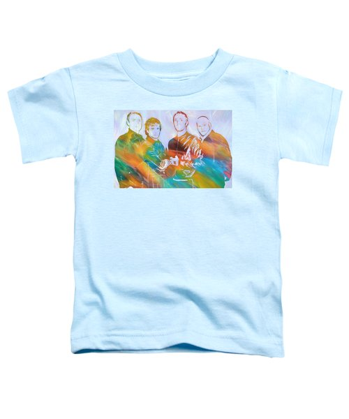 Colorful Coldplay Toddler T-Shirt by Dan Sproul
