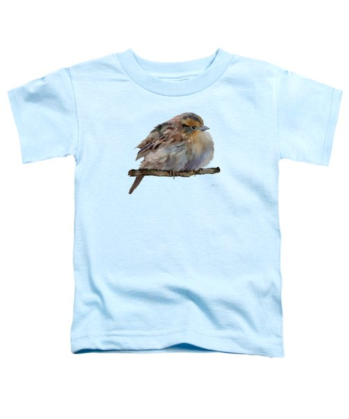 Colourful Sparrow Toddler T-Shirt by Bamalam  Photography