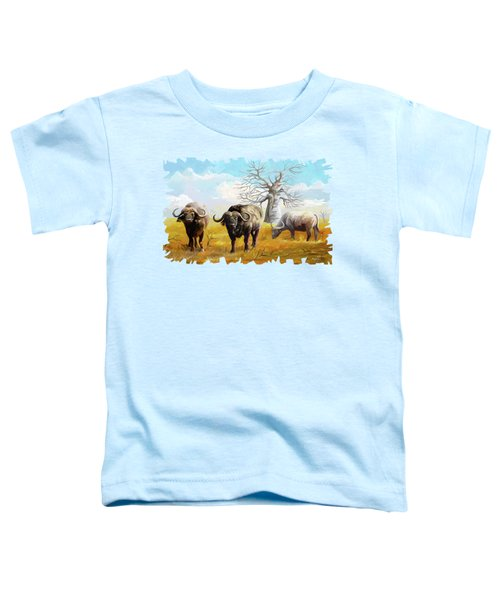 Confidence Toddler T-Shirt by Anthony Mwangi