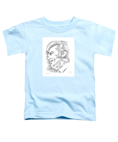 Conway Twitty Toddler T-Shirt by Greg Joens