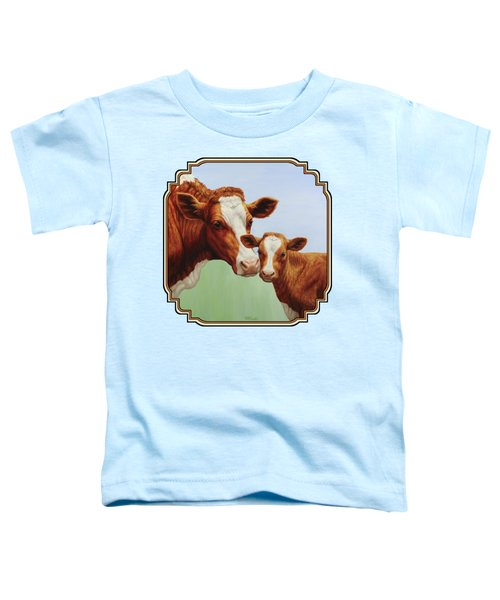 Cream And Sugar Toddler T-Shirt by Crista Forest