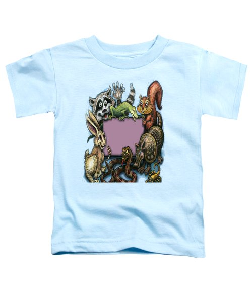 Critters Toddler T-Shirt by Kevin Middleton