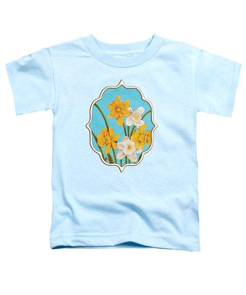 Daffodils Toddler T-Shirt by Anastasiya Malakhova
