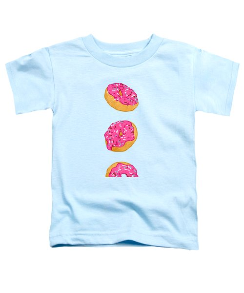Doughnuts Toddler T-Shirt by Evgenia Chuvardina