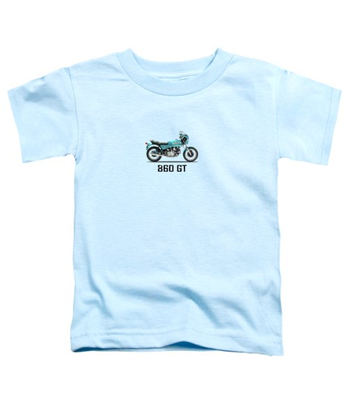 Ducati 860 Gt 1975 Toddler T-Shirt by Mark Rogan