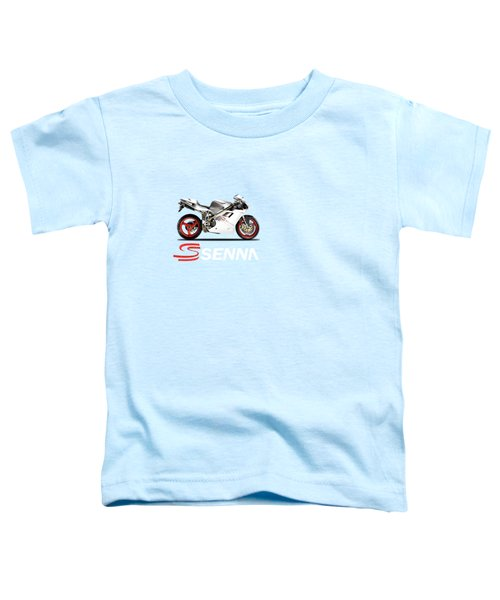 Ducati 916 Senna Toddler T-Shirt by Mark Rogan