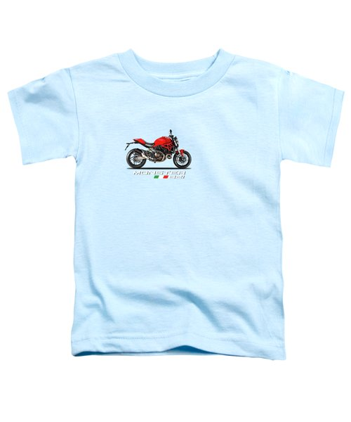 Ducati Monster 821 Toddler T-Shirt by Mark Rogan
