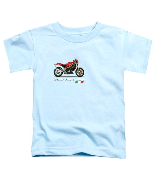 Ducati Monster S4 Sps Toddler T-Shirt by Mark Rogan