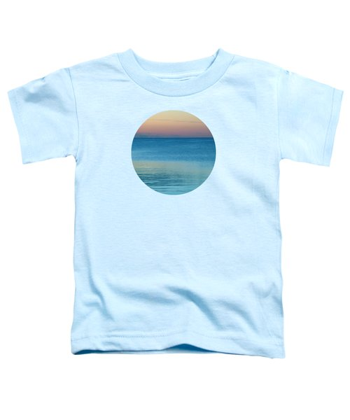 Evening At The Lake Toddler T-Shirt by Mary Wolf