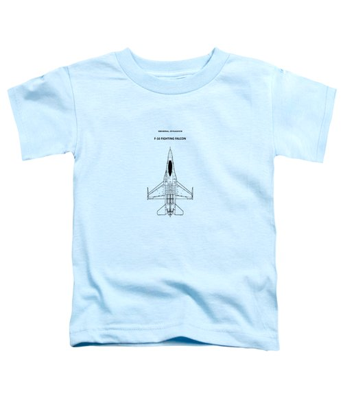 F-16 Fighting Falcon Toddler T-Shirt by Mark Rogan