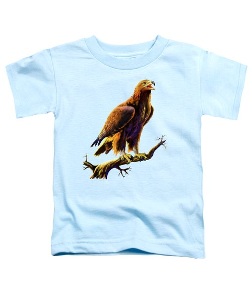 Golden Eagle Toddler T-Shirt by Anthony Mwangi