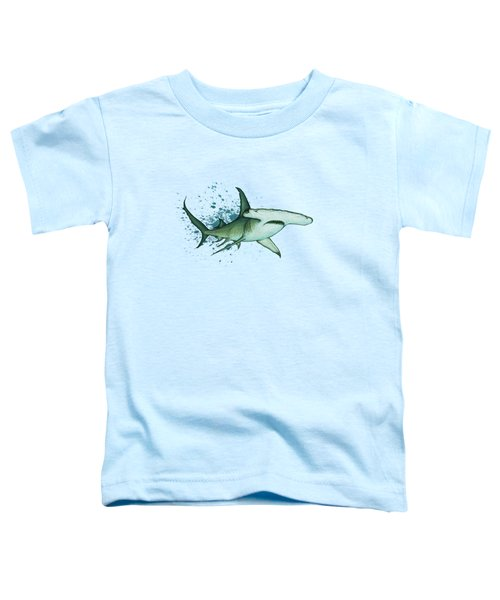 Great Hammerhead Shark  Toddler T-Shirt by Amber Marine