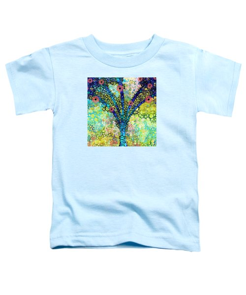 Inspirational Art - Absolute Joy - Sharon Cummings Toddler T-Shirt by Sharon Cummings