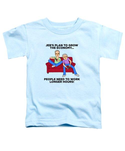 Jeb Bush Toddler T-Shirt by Sean Corcoran