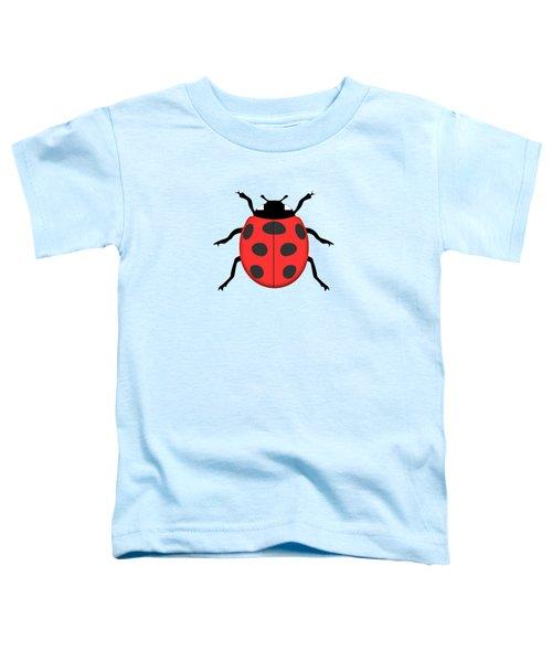 Ladybug Toddler T-Shirt by Gaspar Avila