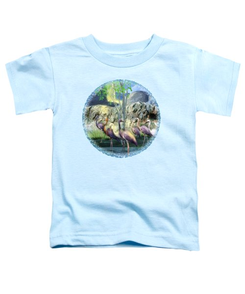 Lakeside View Toddler T-Shirt by Sharon and Renee Lozen