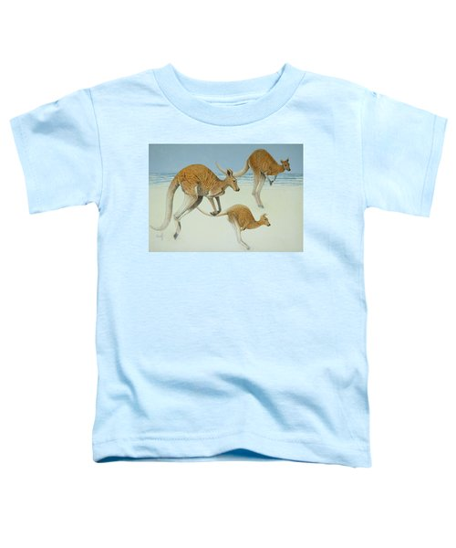 Leaping Ahead Toddler T-Shirt by Pat Scott