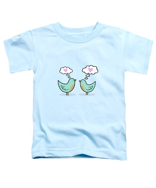 Love Was In The Air Toddler T-Shirt by Little Bunny Sunshine