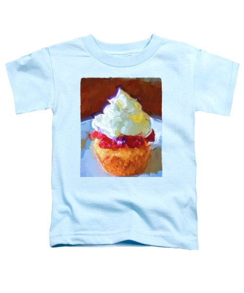 My Surreal Cupcake Toddler T-Shirt by Jackie VanO