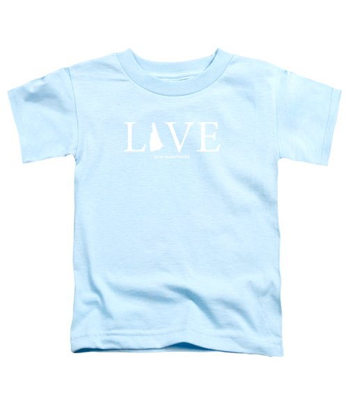 Nh Love Toddler T-Shirt by Nancy Ingersoll