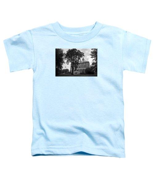 Old Main Penn State Toddler T-Shirt by John McGraw