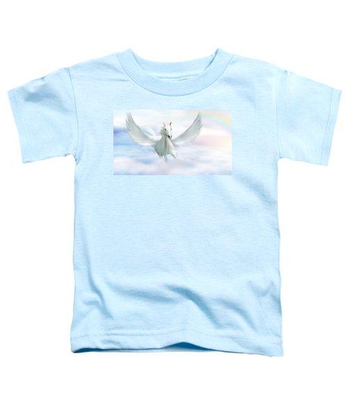 Pegasus Toddler T-Shirt by John Edwards