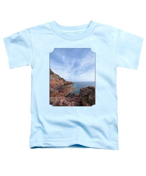 Rocky Ocean Inlet - Jersey Toddler T-Shirt by Gill Billington