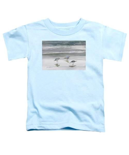 Sandpipers Toddler T-Shirt by Julianne Felton