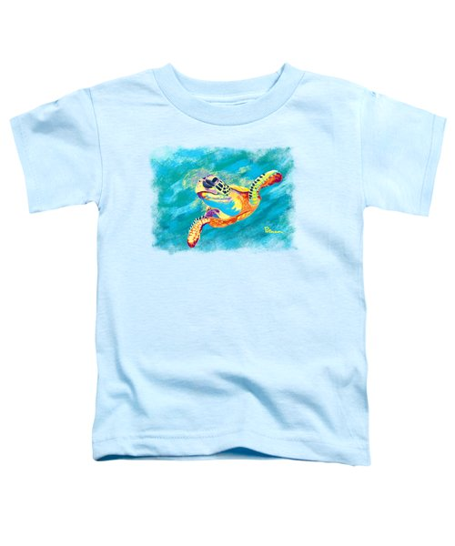 Slow Ride Toddler T-Shirt by Kevin Putman