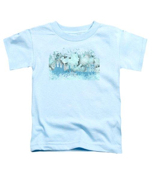 Smudge Philadelphia Skylines Toddler T-Shirt by Alberto RuiZ