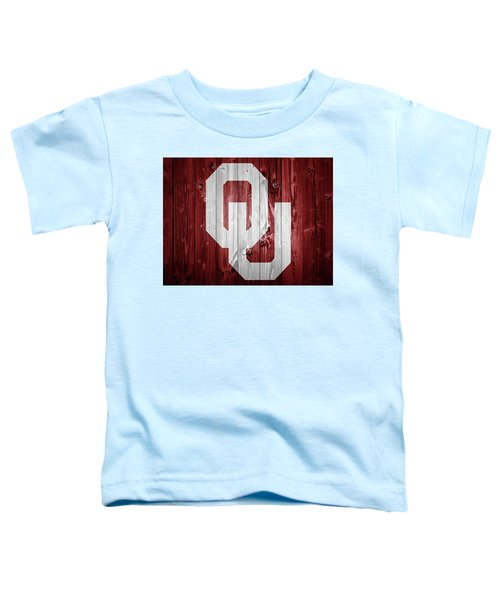 Sooners Barn Door Toddler T-Shirt by Dan Sproul