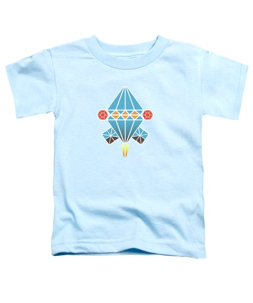 Spacecraft Toddler T-Shirt by Gaspar Avila