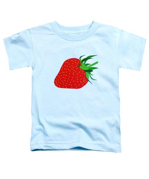 Strawberry Pop Remix Toddler T-Shirt by Oliver Johnston