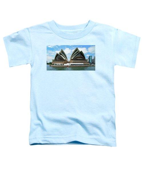 Sydney Opera House No. 1 Toddler T-Shirt by Sandy Taylor