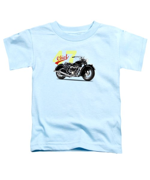 The 1947 Chief Toddler T-Shirt by Mark Rogan