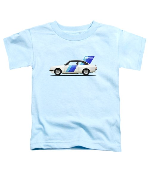 The Ford Escort Rs2000 Toddler T-Shirt by Mark Rogan