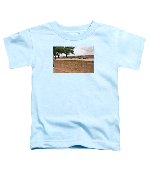 Toddler T-Shirt featuring the photograph Their Name Liveth For Evermore by Travel Pics