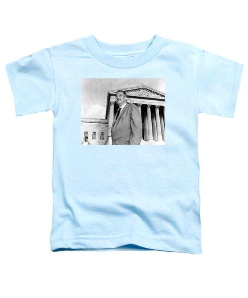 Thurgood Marshall Toddler T-Shirt by Granger