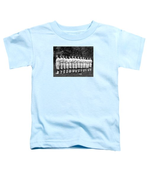 Vintage Photo Of Women's Baseball Team Toddler T-Shirt by American School