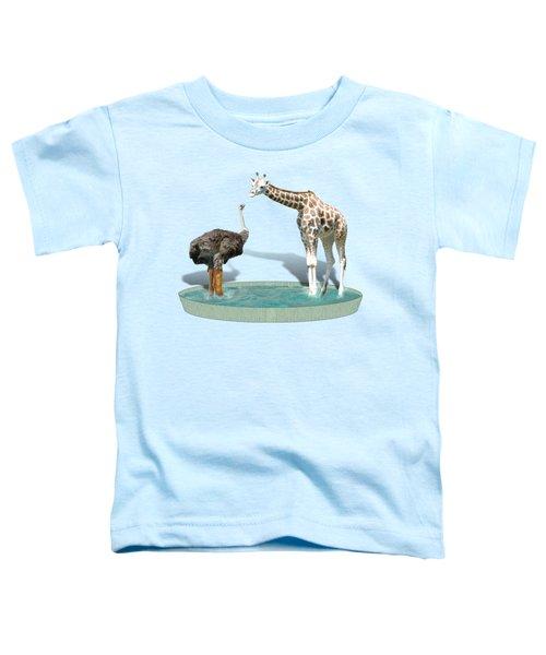 Wading Pool Toddler T-Shirt by Gravityx9  Designs
