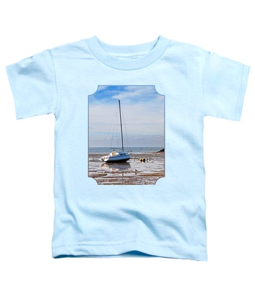 Waiting For High Tide Toddler T-Shirt by Gill Billington