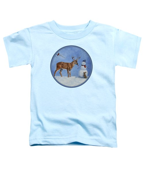 Whose Carrot Seasons Greeting Toddler T-Shirt by Crista Forest