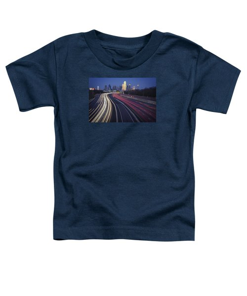 Dallas Afterglow Toddler T-Shirt by Rick Berk