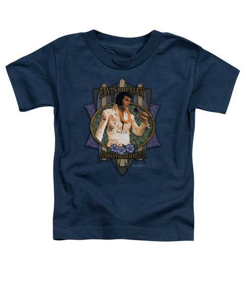 Elvis - Aloha From Hawaii Toddler T-Shirt by Brand A