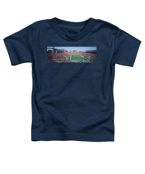 Football, Soldier Field, Chicago Toddler T-Shirt by Panoramic Images