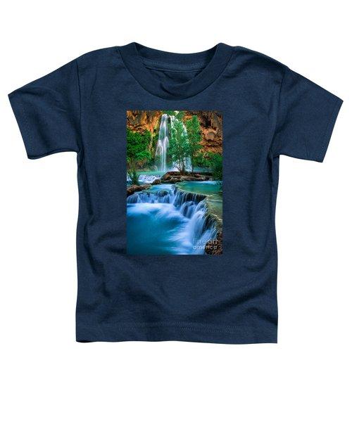 Havasu Paradise Toddler T-Shirt by Inge Johnsson