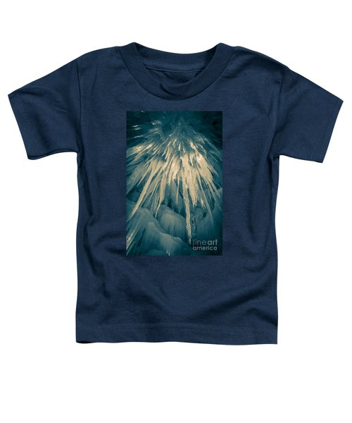 Ice Cave Toddler T-Shirt by Edward Fielding