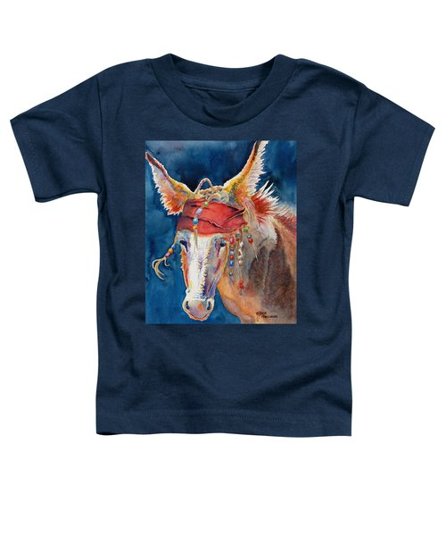 Jack Burro Toddler T-Shirt by Deb  Harclerode