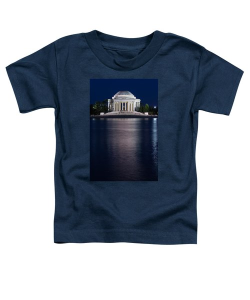 Jefferson Memorial Washington D C Toddler T-Shirt by Steve Gadomski