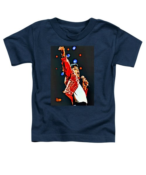 Michael Toddler T-Shirt by Florian Rodarte